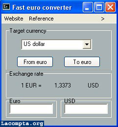 converting euros to dollars